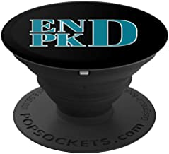 Polycystic Kidney Disease Awareness END PKD Fight Pop Socket - PopSockets Grip and Stand for Phones and Tablets
