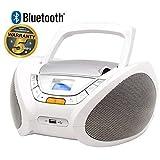 Lauson Lecteur CD | Radio Portable | Bluetooth | USB | Radio Stéréo CD Lecteur MP3...
