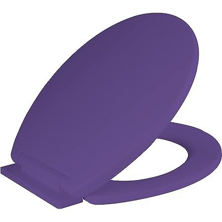 RAM ONLINE Abattant WC à fermeture douce Violet