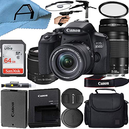 Canon EOS 850D / Rebel T8i Digital SLR Camera with...