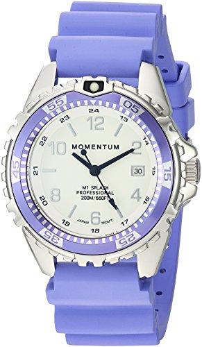 Momentum Unisex-Adult Analoog Klassiek Quartz Horloge met Rubber Band 1M-DN11LP1L