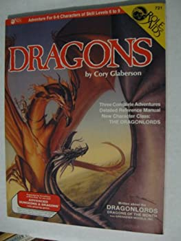 Dragons (Role Aids: Advanced Dungeons and Dragons Supplement, Stock # 721) - Book  of the Role Aids