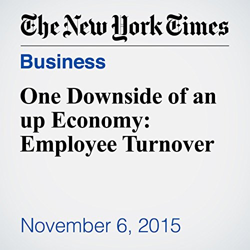 One Downside of an up Economy: Employee Turnover audiobook cover art