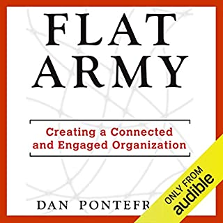 Flat Army audiobook cover art