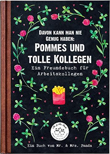 Mr. & Mrs. Panda Buchempfehlung, Lieblingsbuch, Buch Davon kann Man nie genug bekommen: Pommes und tolle Kollegen mit S
