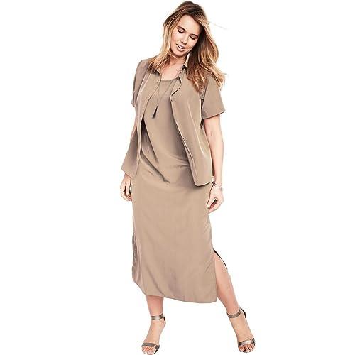 837877037d6 Roamans Women s Plus Size Jacket Dress Set