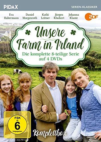 Unsere Farm in Irland - Komplettbox / Die komplette 8-teilige Erfolgsserie (Pidax Serien-Klassiker) [4 DVDs]