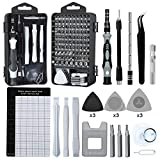 Precision Screwdriver Set, Lifegoo 122pcs Magnetic Repair Tool Kit for iPhone Series/Mac/iPad/Tablet/Laptop/Xbox Series/PS3/PS4/Nintendo