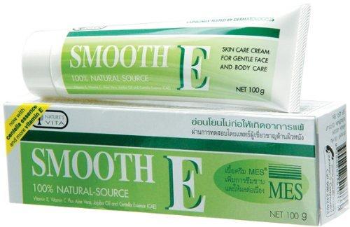 Smooth E Cream With Vitamin E & Aloe Vera 100g