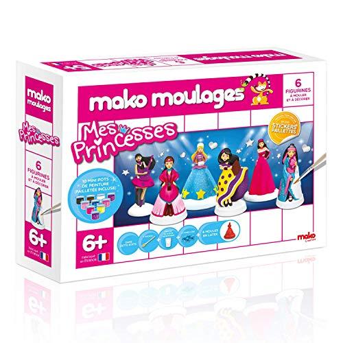 Mako Créations- Coffret Mes Princesses Kit Complet de Loisirs Créatifs, 39017