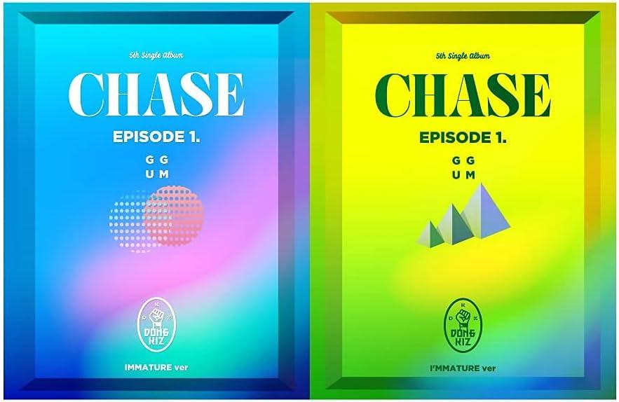 Dongkiz Chase Episode 1. Brand new GGUM 5th Version Set Album Single 2 Memphis Mall CD+