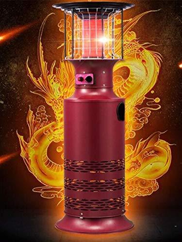 ZHSGV Interior/Exterior de Gas terraza calefacción de Gas del Calentador Calentador de hogar/Gas doméstico Comercial Horno de protección del Medio Ambiente (Color : LPG (Propane Gas))