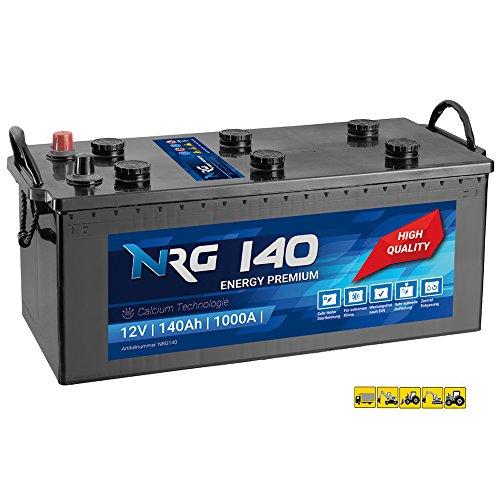 NRG Premium LKW Batterie 140Ah - 1000A/EN Starterbatterie