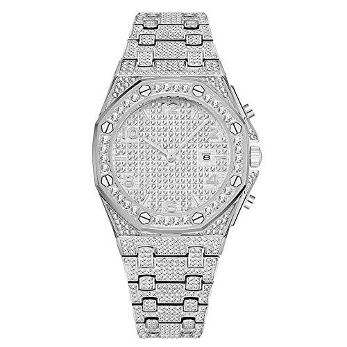 Liandd Big Women Watches Top Luxusuhr Damen Trend Unique Diamond Watch Quarz Iced Out Watch,V296-2