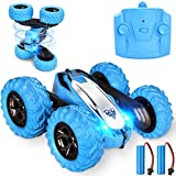 Remote Control Car, RC Cars Stunt Car, 4WD 2.4GHz Double Sided Rotating 360° Flips Vehicles, Drift High-Speed Off-Road Stunt Truck Toys for 3 4 5 6 7 8-12 Year Old Boy Toys Christmas Birthday Gifts