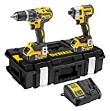 <span class='highlight'>Dewalt</span> DEWPDCK266P2 DEWDCK266P2 DCK266P2 <span class='highlight'>XR</span> Brushless Twin Pack 18V 2 x 5.0Ah Li-Ion, 18 V, Yellow