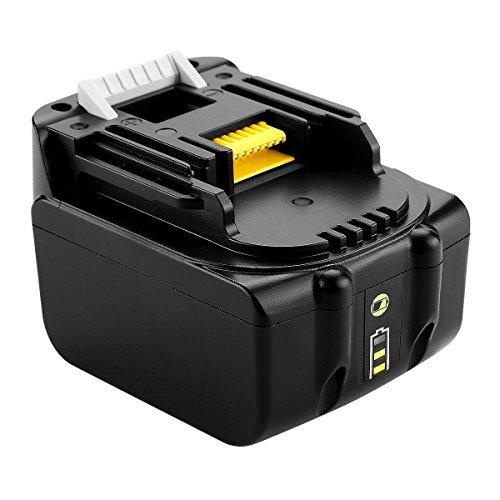 14,4V volt 5 ah 5000 mAh Li-Ion-akku ersetzen Akku für Makita Werkzeuge BL1430 BL1450 194559-8 für Makita BMR100 BMR050 BDF442 DDF445 DDF343 DDF446Z BHP444 BTL062 ML143 DML802 mit anzeige