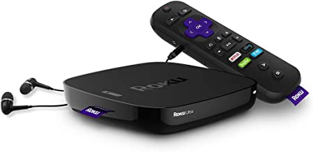 Roku Ultra | HD/4K/HDR Streaming Media Player, 2018 (Renewed)