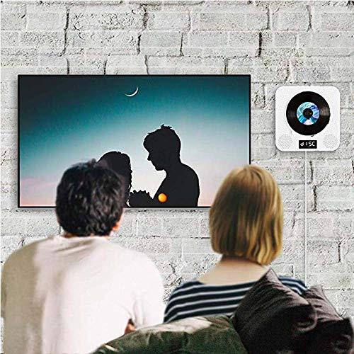 TongZHENGTAI Stijlvolle elegante decoratieve ornamenten Wand-CD-speler DVD-HD-DVD-speler Bluetooth repeater Engels leren cd-speler Intelligent Bluetooth, ingebouwde dubbele luidspreker