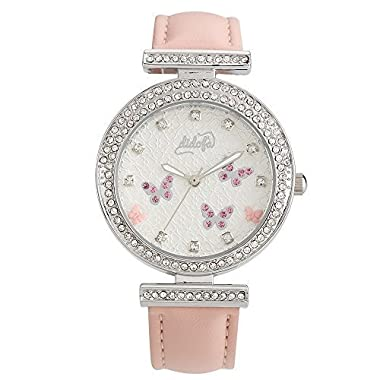 Italian Wrist Watch For Women By Didofa: 3D Original Fashion Watch With A Unique Bedazzled Design And Butterfly Pattern, Water Resistant And Durable, Beautiful And Premium Quality Gift Packaging