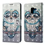[3D Painting] Compatible with Samsung Galaxy A8 Plus 2018 Wallet...