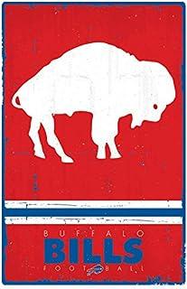 "Trends International Buffalo Bills Retro Logo 22.375"" X 34"""