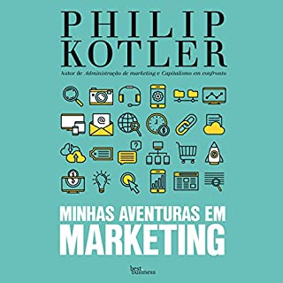 Minhas aventuras em marketing [My Adventures in Marketing] audiobook cover art