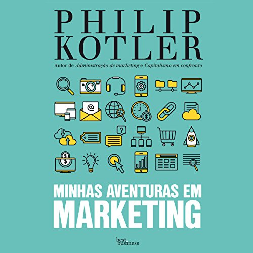 Minhas aventuras em marketing [My Adventures in Marketing] audiobook cover art