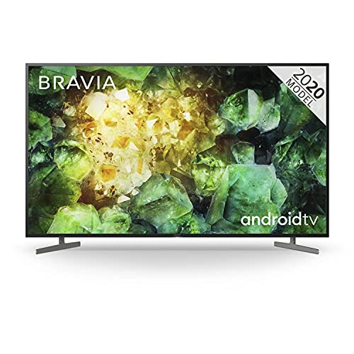 """Sony KD-65XH8196 65"""" LED 4K HDR Television with Android TV"""