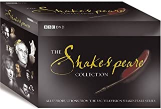 The BBC TV Shakespeare Collection - 38 DVDs Set [Non-US Format, PAL, Region 2, Import]