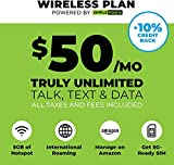 "($50 eGift Card Promotion) $50 Monthly Carrier Subscription (toward Simple Mobile ""Truly Unlimited"" Plan) + SIM Card"