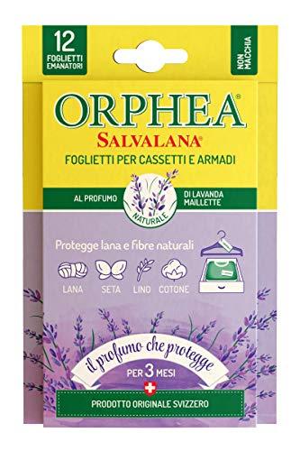 Orphea Salvalana feuillets antimites au Parfum Naturel de Lavande