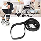 Levantador de piernas negro, levantador de piernas para discapacitados, duradero para personas con discapacidad, personas mayores, pediatría