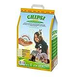 Chipsi Conejos Ultra Higiénico (20L). Lecho para Pájaros, Hamsters, Cobayas, Roedores con Materiales Naturales Biodegradables, Ecológicos, 20 l, 20000
