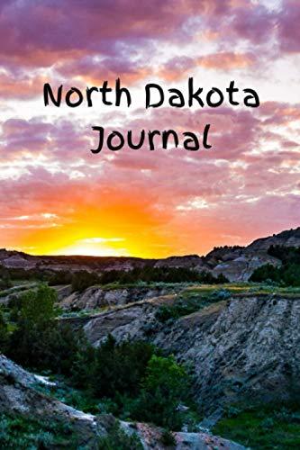 North Dakota Journal: Lined Notebook (North Dakota Gifts and Souvenirs)