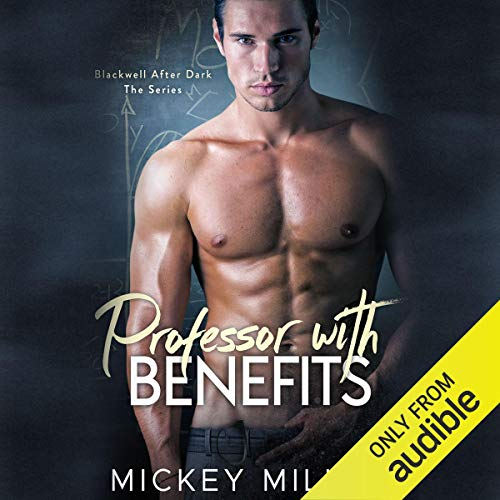 Professor with Benefits audiobook cover art