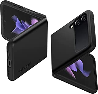 Spigen Thin Fit Back Cover Case Compatible with Samsung Galaxy Z Flip 3 - Black