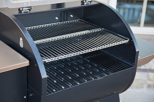 Camp Chef SmokePro SG Wood Pellet Grill Smoker, Black (PG24SG)