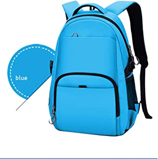 PANFU-AU Water-Repellent Bag,Travel Backpack,College Stylish Daypack School Laptop Backpack 16 Inch Computer Backpack (Color : Blue, Size : XL)