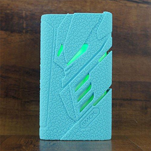 ModShield for SMOK T-PRIV 220W TC Silicone Case ByJojo T PRIV 220 W Skin Cover Sleeve Shield Wrap (Teal)