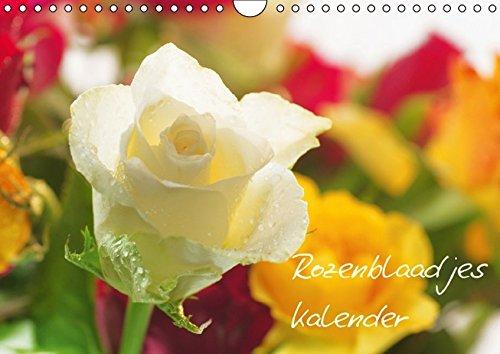 Rozenblaadjes kalender (Wandkalender 2015 DIN A4 vertikaal): Een kalender is te zien in de schoonheid en de verscheidenheid van rozen (Maandelijkse Kalender, 14 Pagina's)