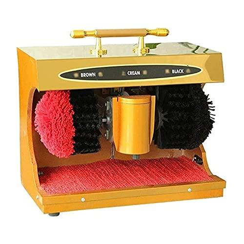 DSDD Limpiador de Zapatos eléctrico, pulidora de Zapatos automática para el hogar, Sensor de Infrarrojos Completamente automático, Cepillo de Peine para el hogar, máquina Puli