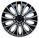 EET Radkappen Set Von 14 Zoll, 4Er-Set, Bicolor Schwarz/Silber Wheel Trims Radzierblenden Universal Fit Für Autos Und Vans Modified...