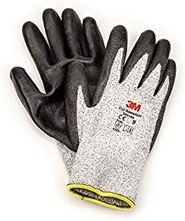 3M Comfort Grip Gloves CGL-CRE, Cut Resistant (ANSI 2), Size L (Pair of Gloves)