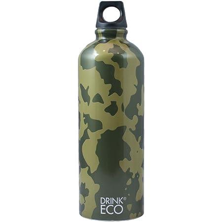 Alusport Bottles Drink Eco Camouflage Borraccia sportiva, unisex, per adulti, multicolore, L