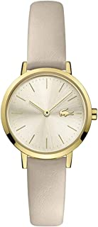 Lacoste Women's Champagne Dial Taupe Leather Watch - 2001119