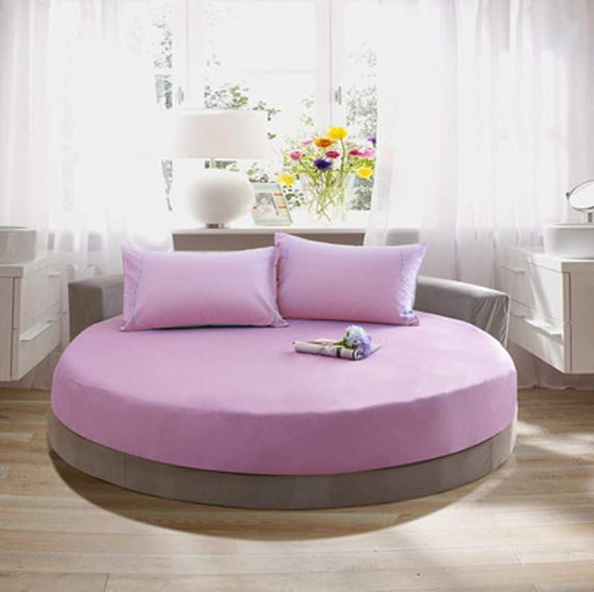 繊維市の花レザーコットン ベッド スカート,単色 ラウンド ベッド シート ベッド カバー 簡単なケア ほこりしわ ベッド カバー シート,キルト綿のベッド スカート-N