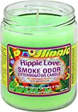 Smoke Odor Exterminator 13oz Jar Candle, Hippie Love, 13 oz
