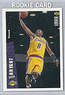 1996-97 Upper Deck Collector's Choice #267 Kobe Bryant Rookie Card Lakers Hall Of Fame MVP