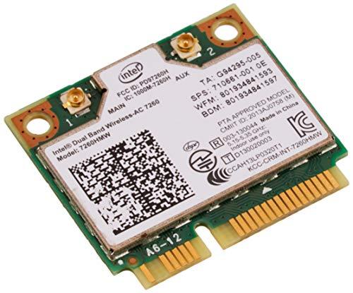 Intel de Doble Banda de Alta Velocidad Wi-Fi inalámbrica de comunicaciones de banda-802.11 AC 7260 7260HMW Tarjeta LAN inalámbrica